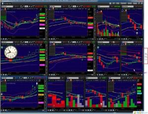 Screenshot of Live Trading
