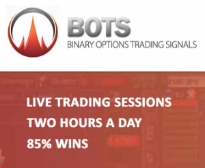 binary options trading signals by franco BOTS