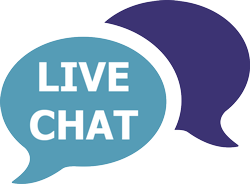 live chat available