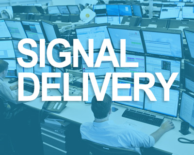 Binary signals delivery