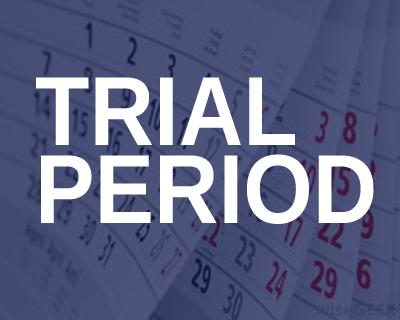Trial period of signals