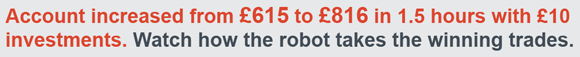Watch the robot trade