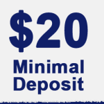 Binary option minimum deposit 20