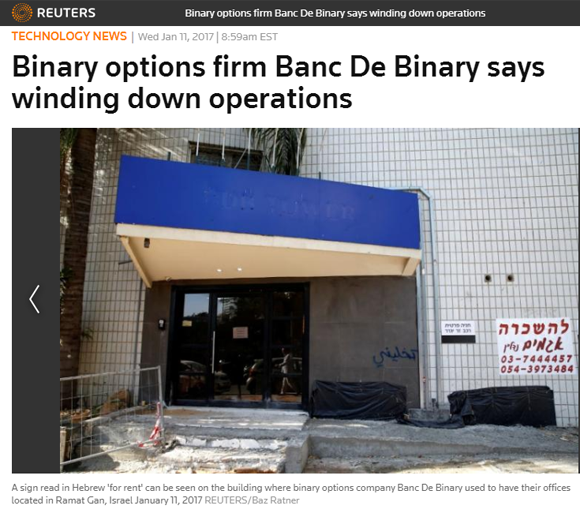bancdebinary closure news