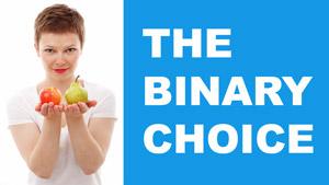 the binary choice